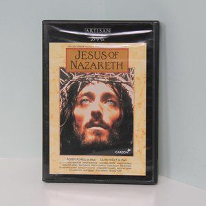Jesus of Nazareth DVD Full-Screen on 2 Discs